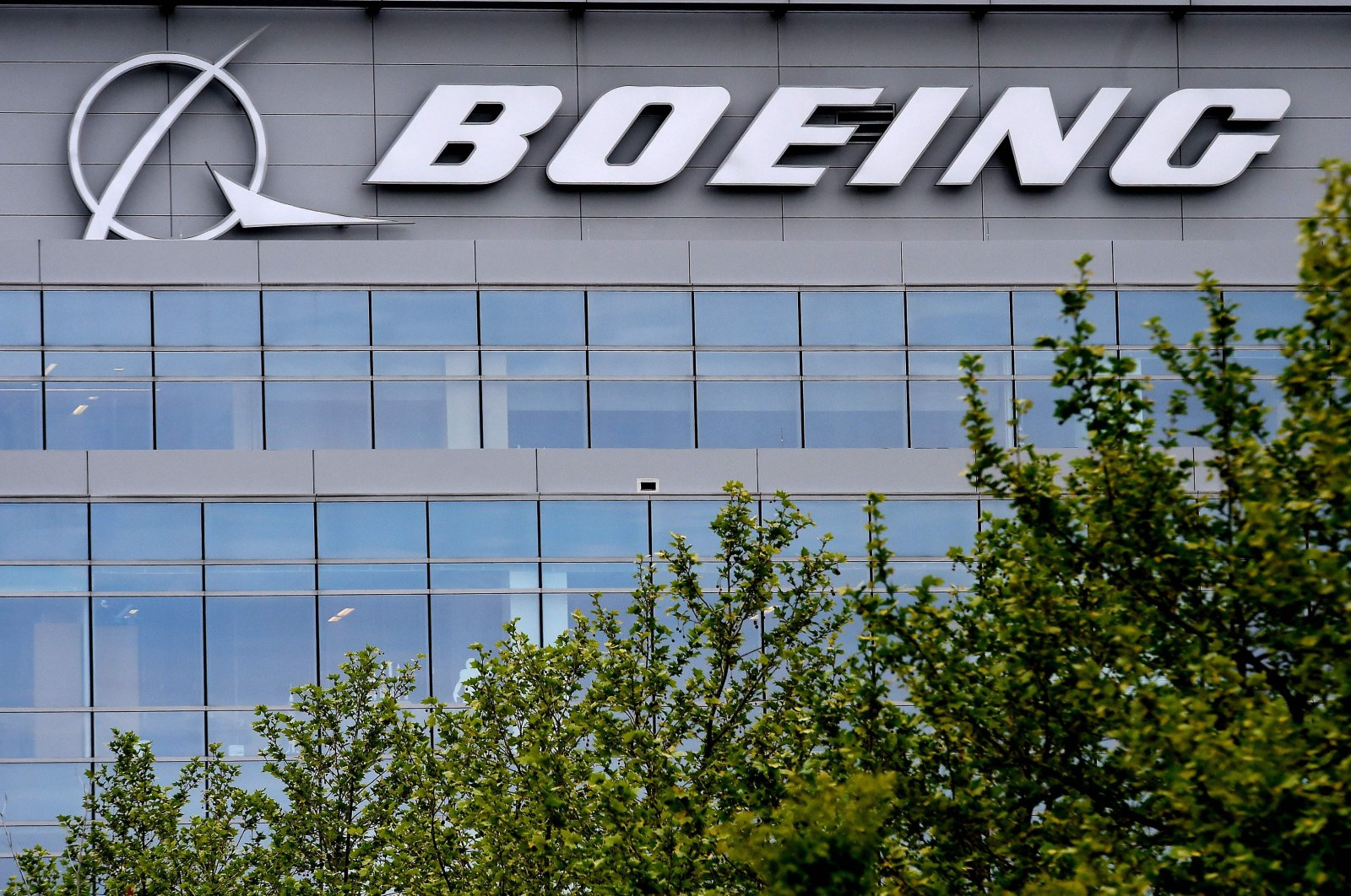 The Boeing regional headquarters is seen amid the coronavirus pandemic in Arlington, Virginia, April 29, 2020. (AFP Photo)