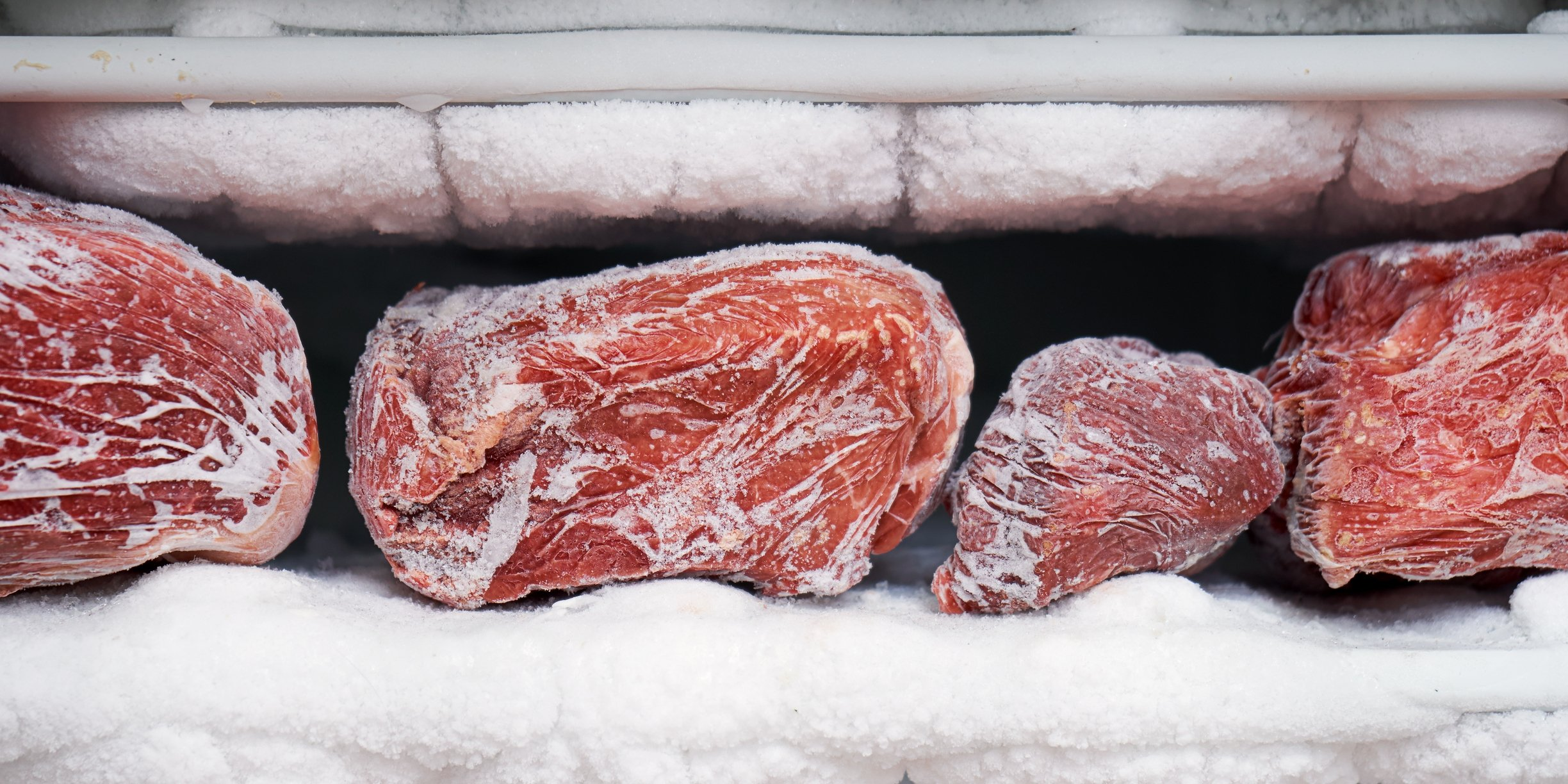 Make sure to section off your meat and let them rest before putting them in the freezer. (iStock Photo)