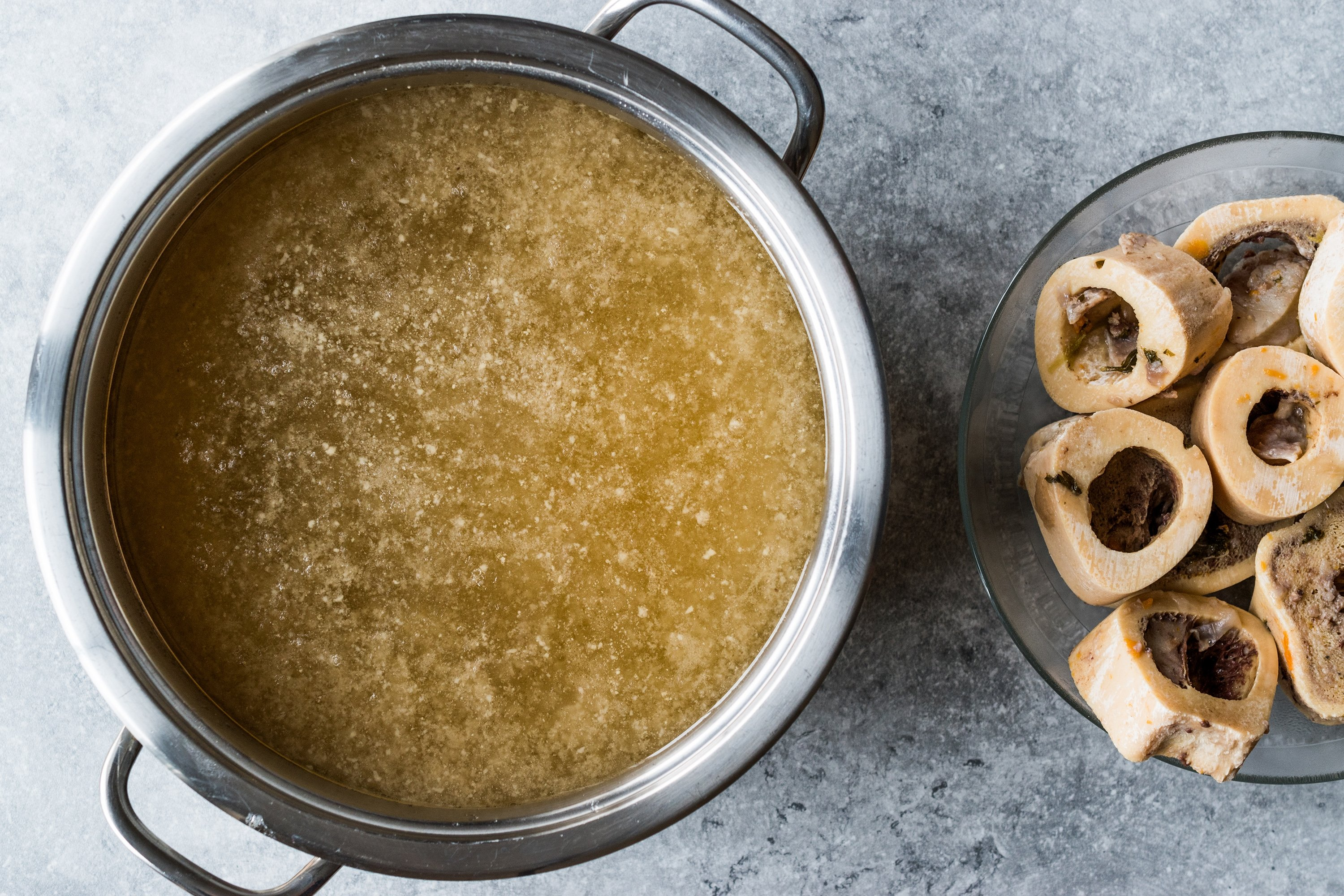 Don't throw away the bones; oil them with vegetables and meat to create your very own collagen-rich bone broth. (Shutetrstock Photo)