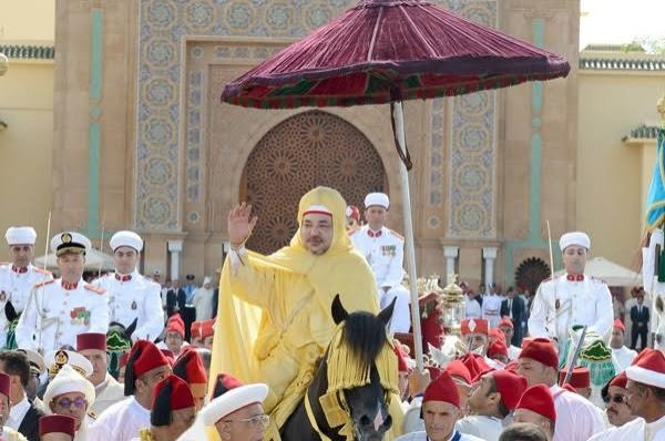 The allegiance ceremony of King Mohammed VI of Morocco, Rabat, Morocco, July 30, 2019. (Courtesy of Mohammed VI Foundation of African Oulema)