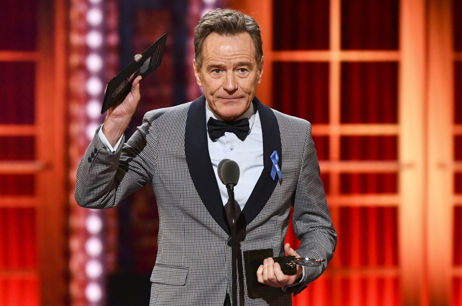 Bryan Cranston during the 73rd annual Tony Awards in New York, U.S., June 9, 2019. (AP Photo)