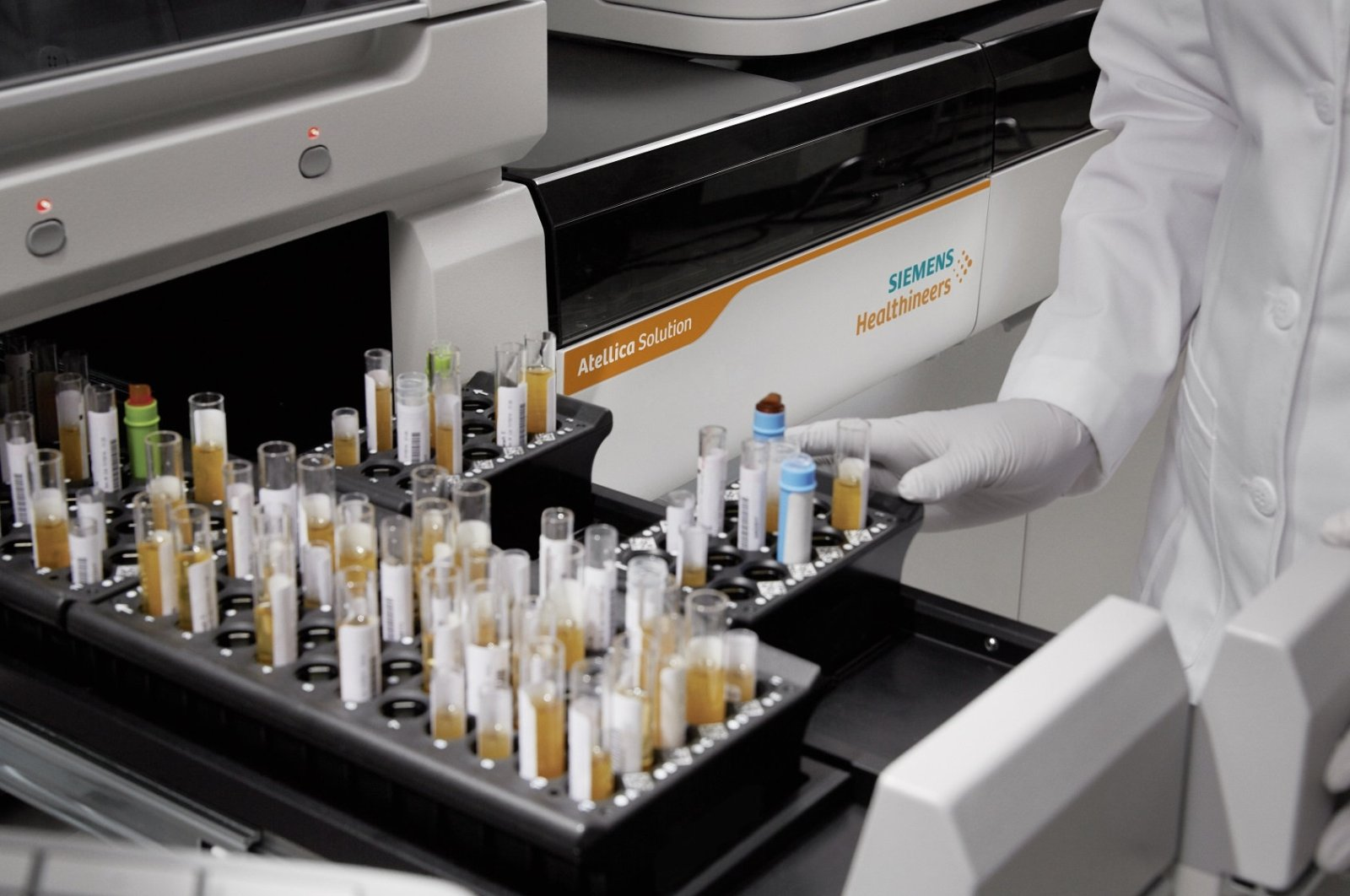 This undated file photo shows a lab at a Siemens Healthineers building in Germany. (Courtesy of Siemens Healthineers)