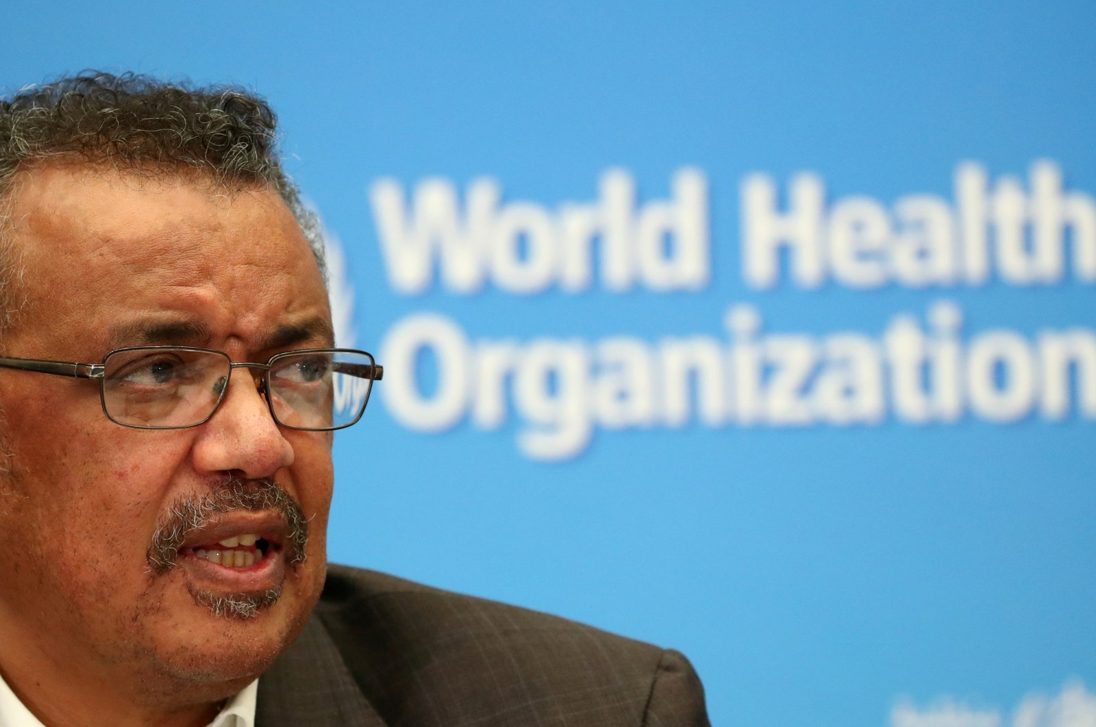 World Health Organization (WHO) Director-General Tedros Adhanom Ghebreyesus speaks during a news conference in Geneva, Switzerland, Jan. 30, 2020. (Reuters Photo)