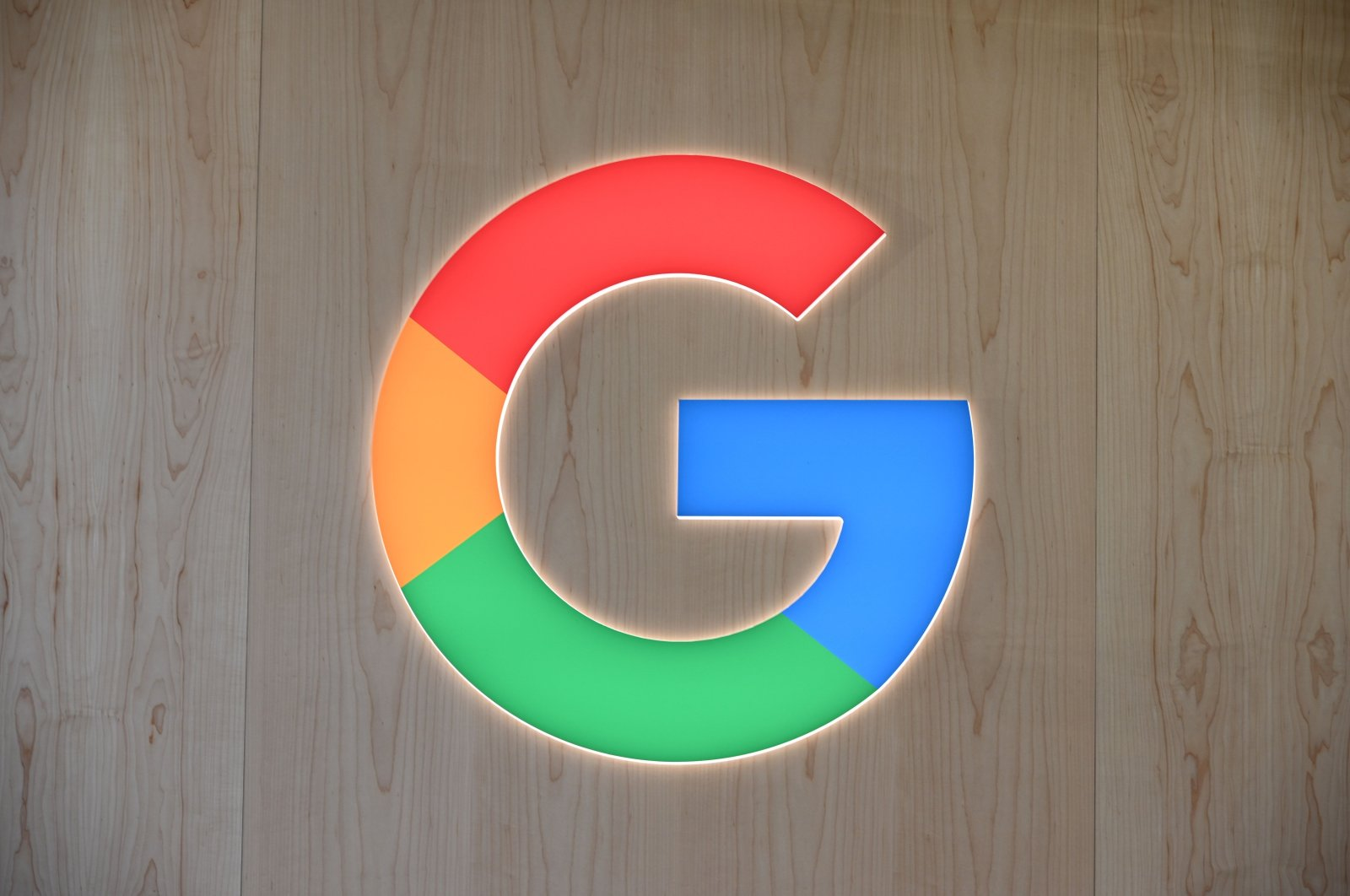 The Google logo is seen at the 2020 Consumer Electronics Show (CES) in Las Vegas, Nevada, U.S., Jan. 8, 2020. (AFP Photo)