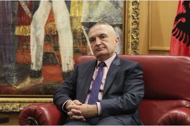 Albanian President Ilir Meta is seen in this undated photo. (AA Photo)