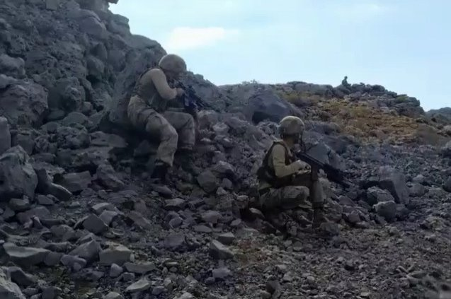 Turkish security forces regularly conduct counterterrorism operations in the eastern and southeastern provinces of Turkey, where the PKK has attempted to establish a strong presence. (DHA Photo)