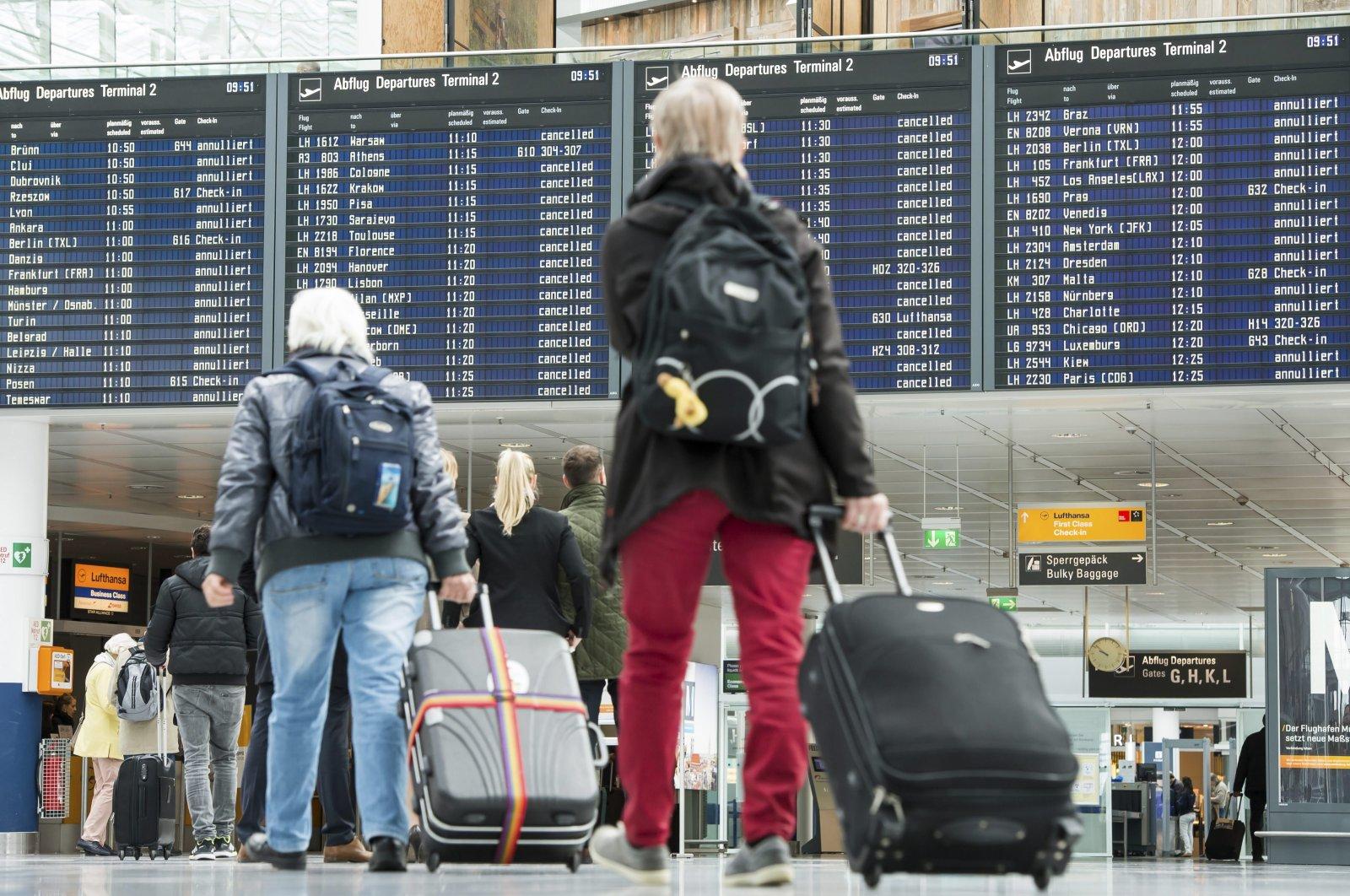 Munich airport, Germany. (AA Photo)