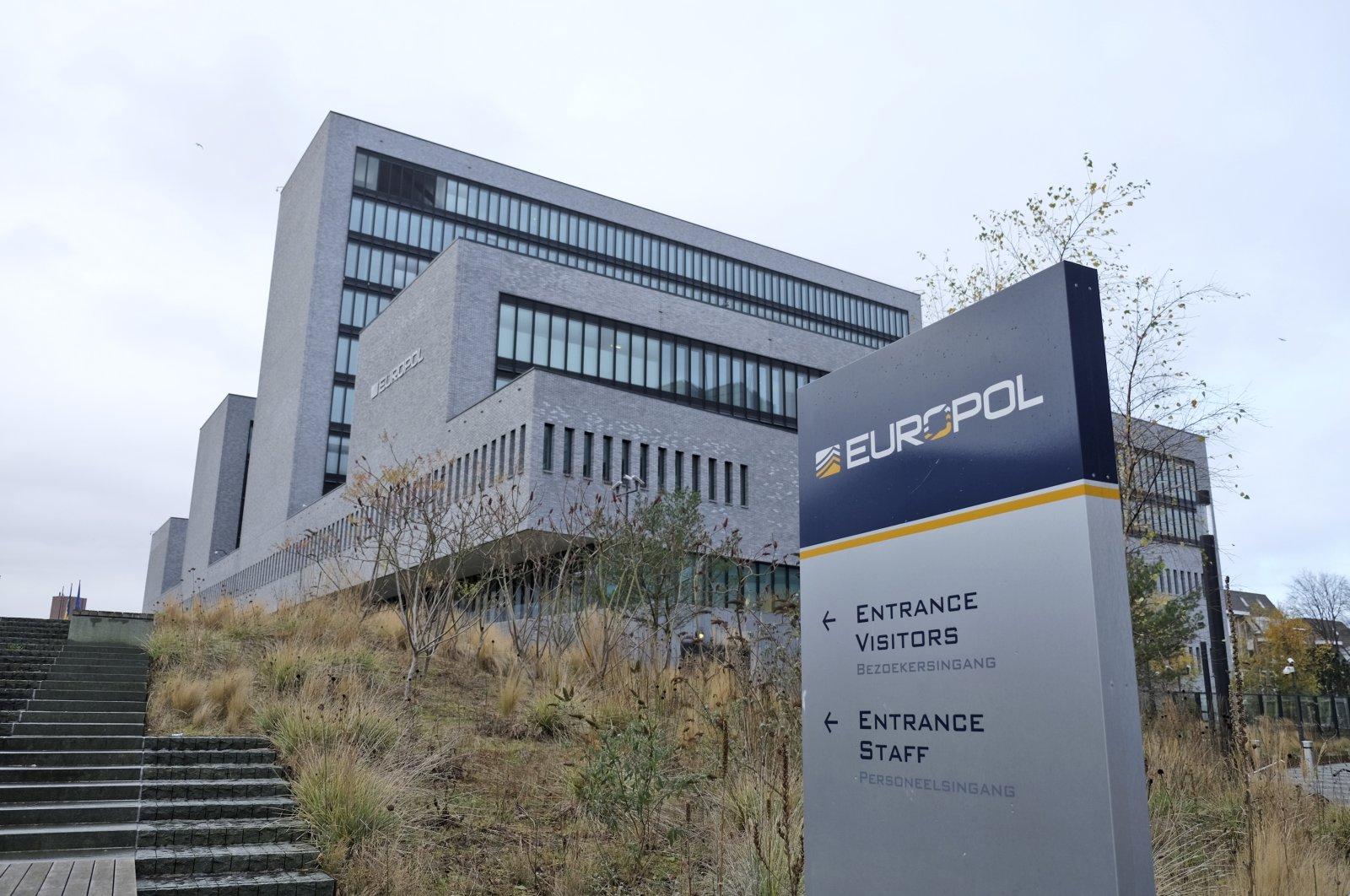 Europol headquarters in The Hague, Netherlands, Dec. 2, 2016. (AP Photo)