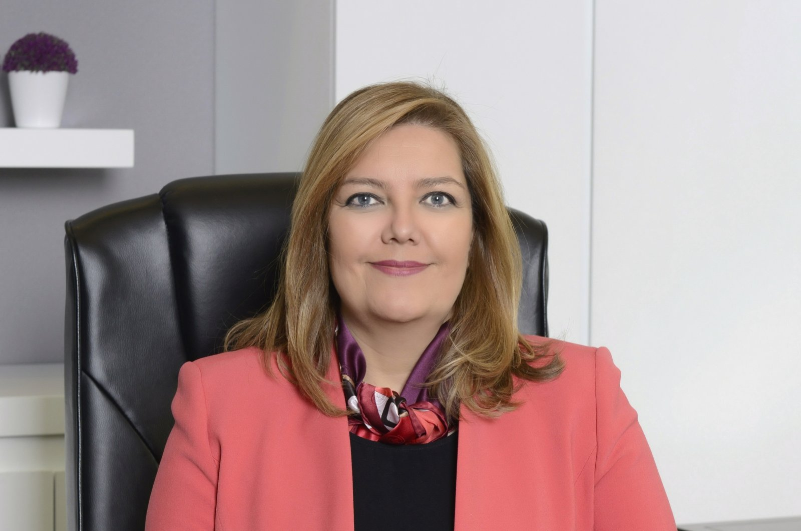 Ece Börü, acting CEO of TSKB. (AA Photo)