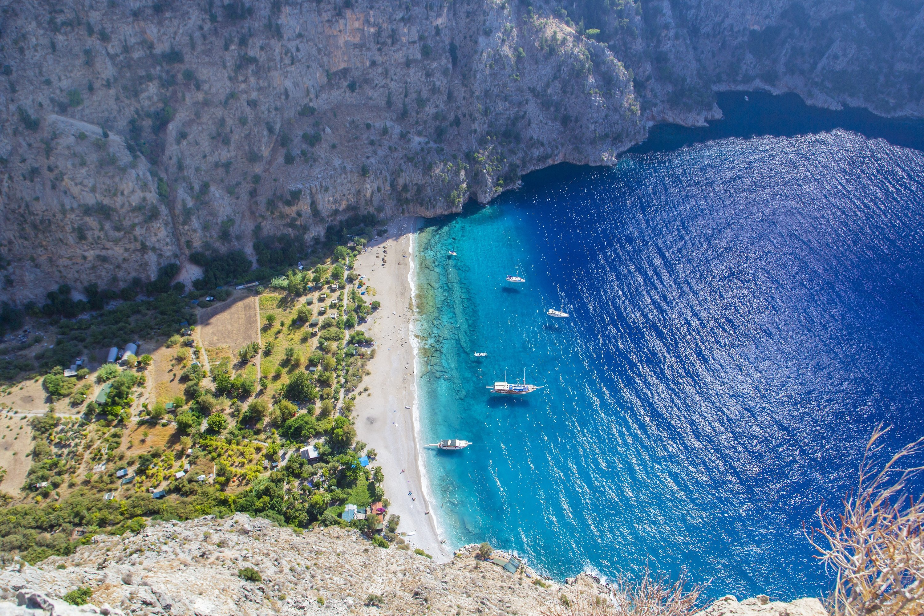 Comparatively quieter than Bodrum, Fethiye is also another popular expat destination in Turkey's sunny south. (Shutterstock Photo)
