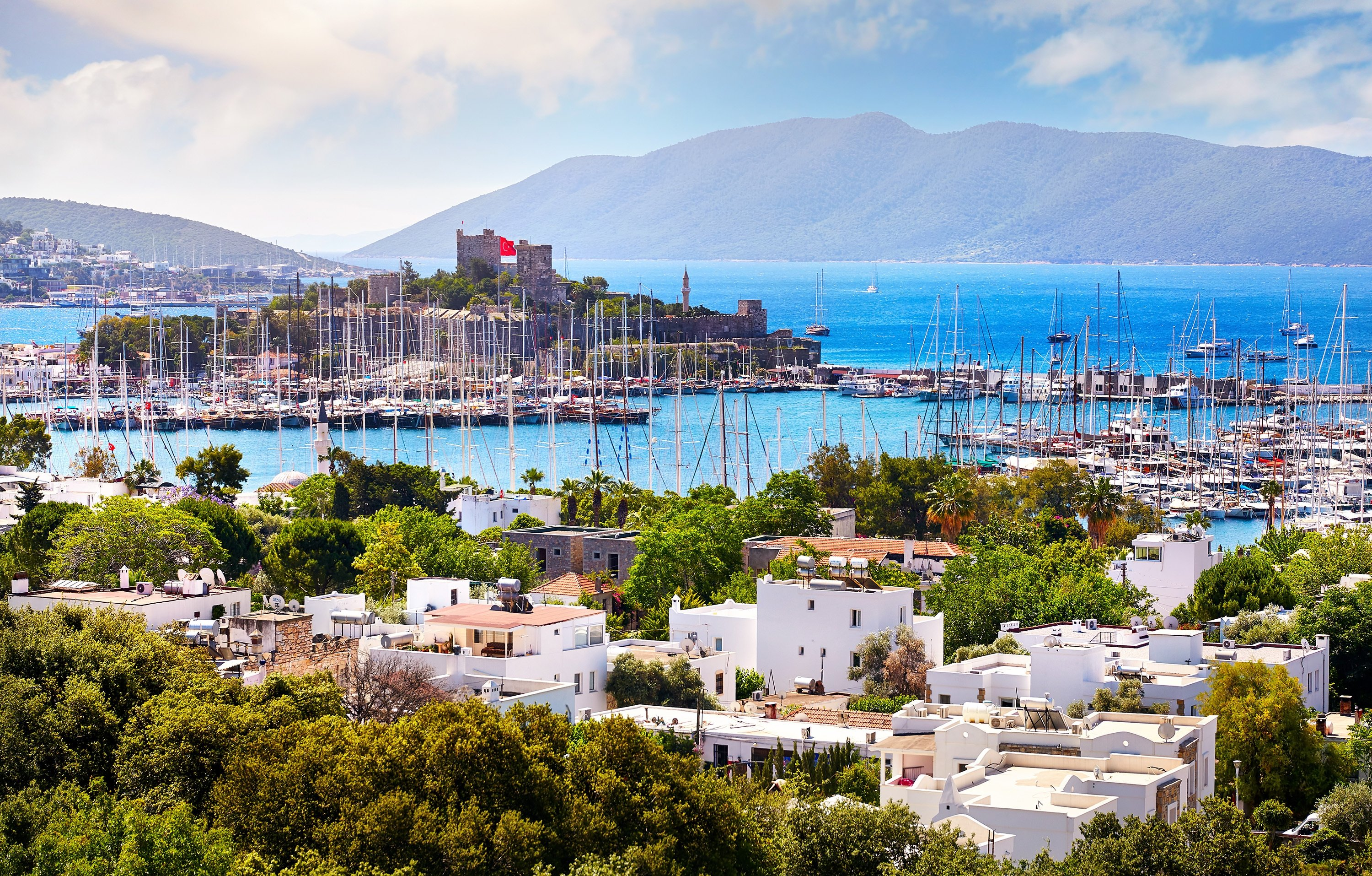 Many expats make their home in Bodrum after retirement. (Shutterstock Photo)