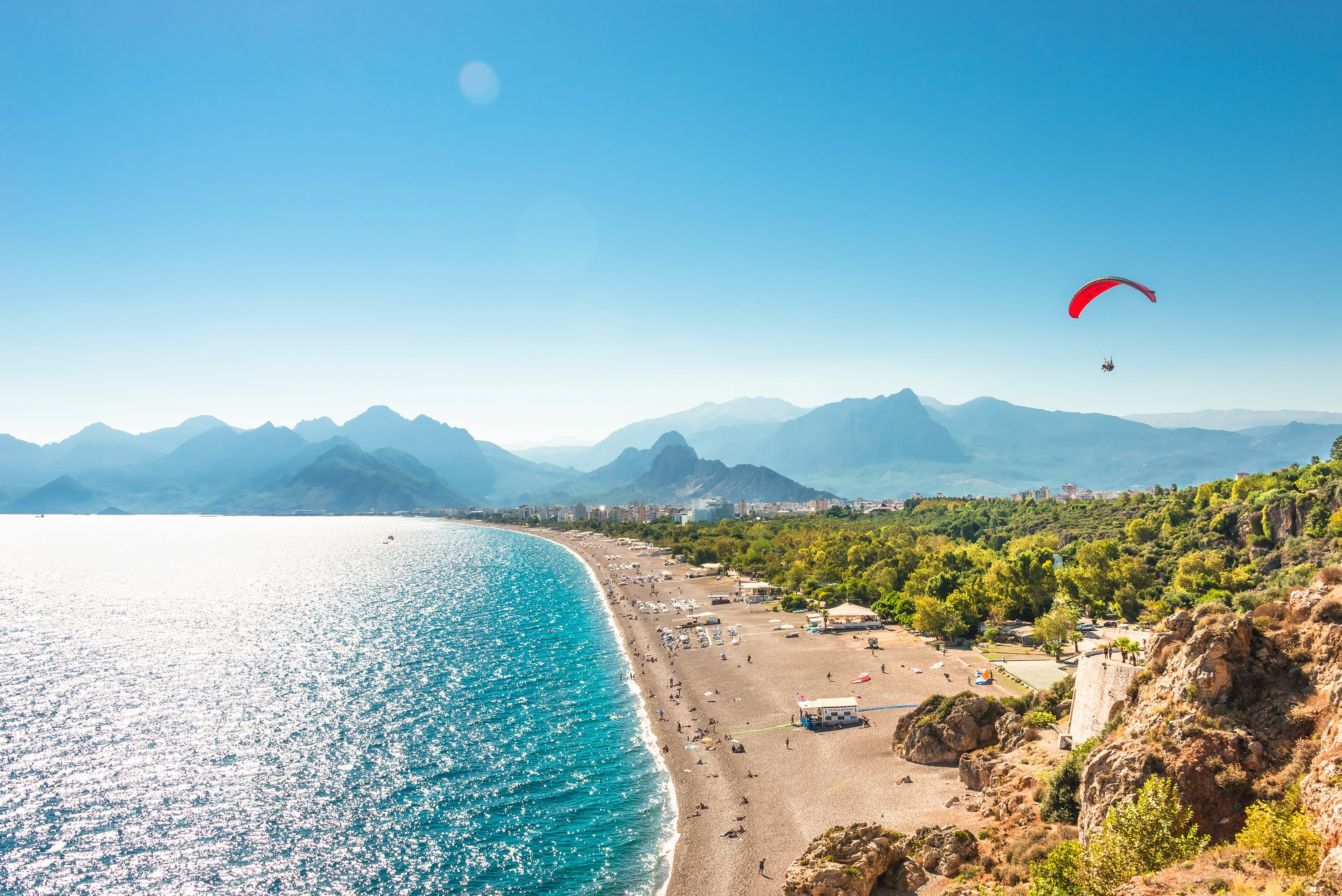 Antalya has been rising in popularity among expats, especially Russians. (Shutterstock Photo)