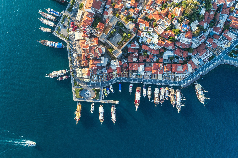 Marmaris in southwestern Turkey's Muğla is especially popular with British expats. (Shutterstock Photo)