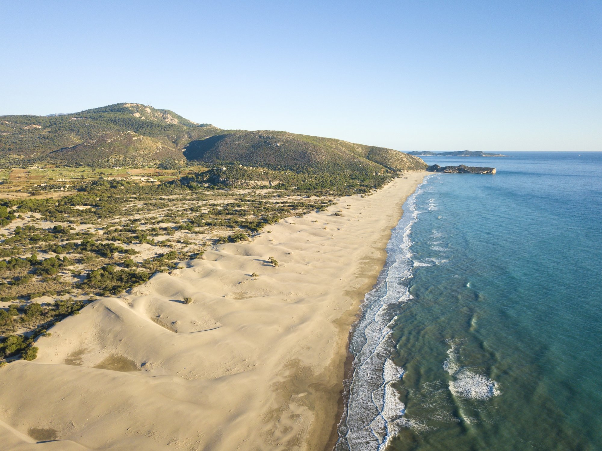 With its sand dunes and beach that stretches on for miles, Patara Beach is a relatively undiscovered spot. (iStock Photo)