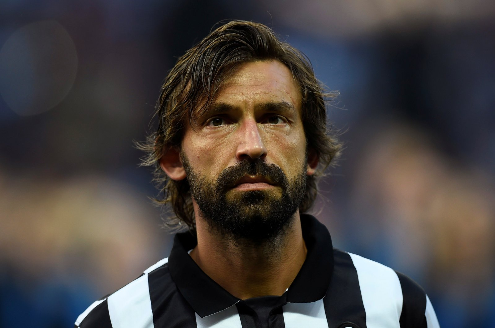 Juventus' Andrea Pirlo before the match in Berlin,Germany. (Reuters Photo)