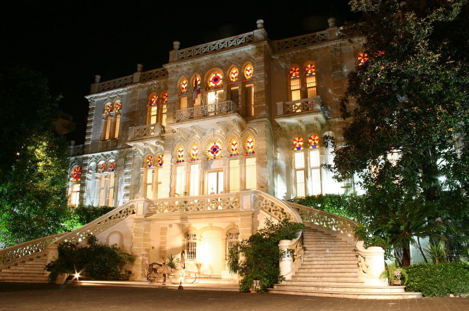 Sursock Museum is located a few kilometers from the explosion site.