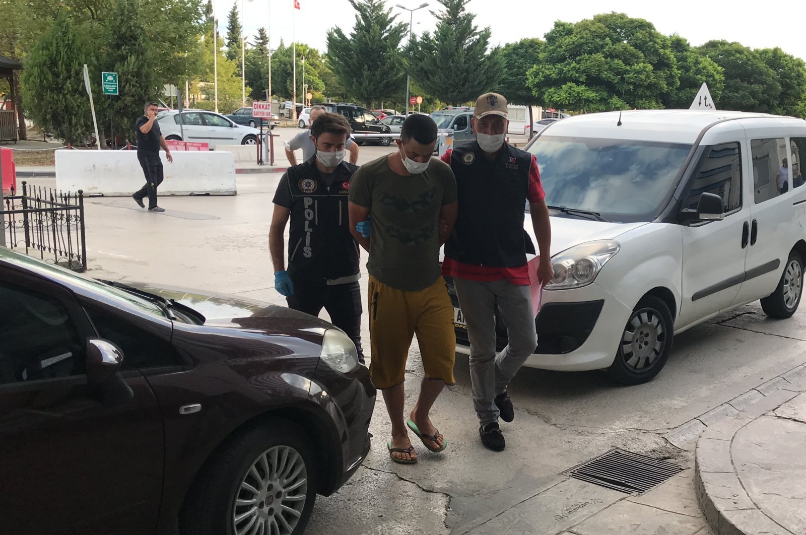At least eight suspects have been arrested for their links to the Daesh terrorist group in the Black Sea province of Samsun, Turkey, Aug. 11, 2020. (AA Photo)