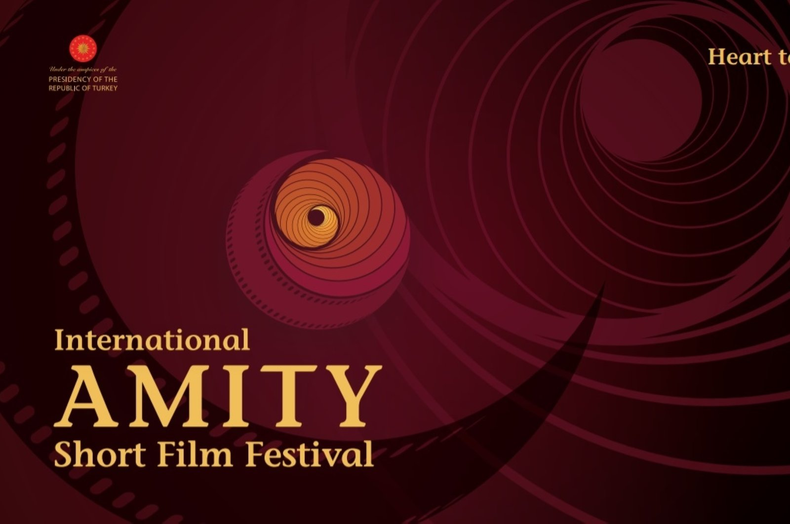 A banner of the International Amity Short Film Festival. (Courtesy of Amity Short Film Festival)
