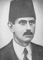 A photo of Adnan Adıvar in the 1920s.