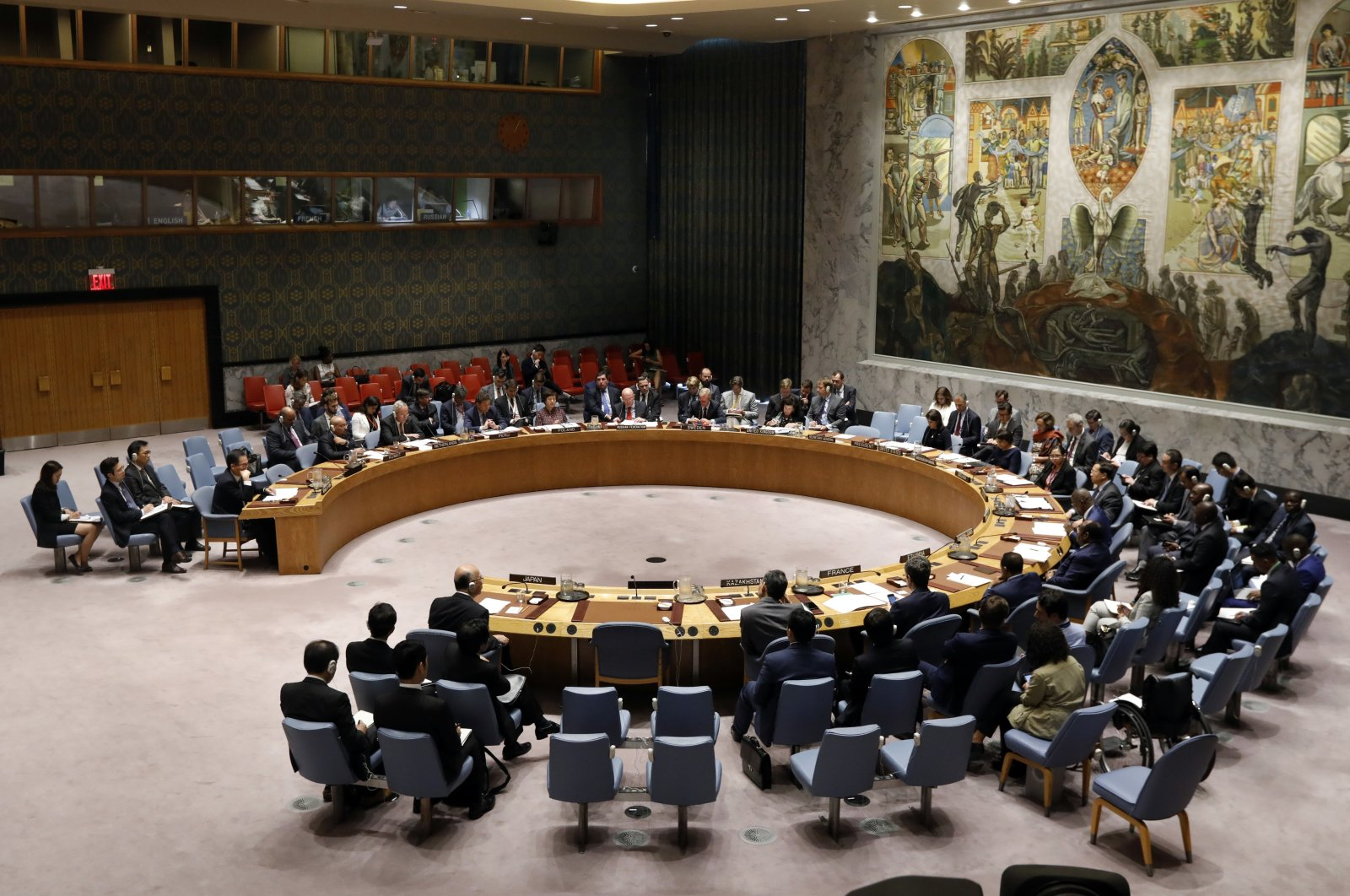 In this Sept. 17, 2018, file photo, the United Nations Security Council meets at U.N. Headquarters. (AP Photo)