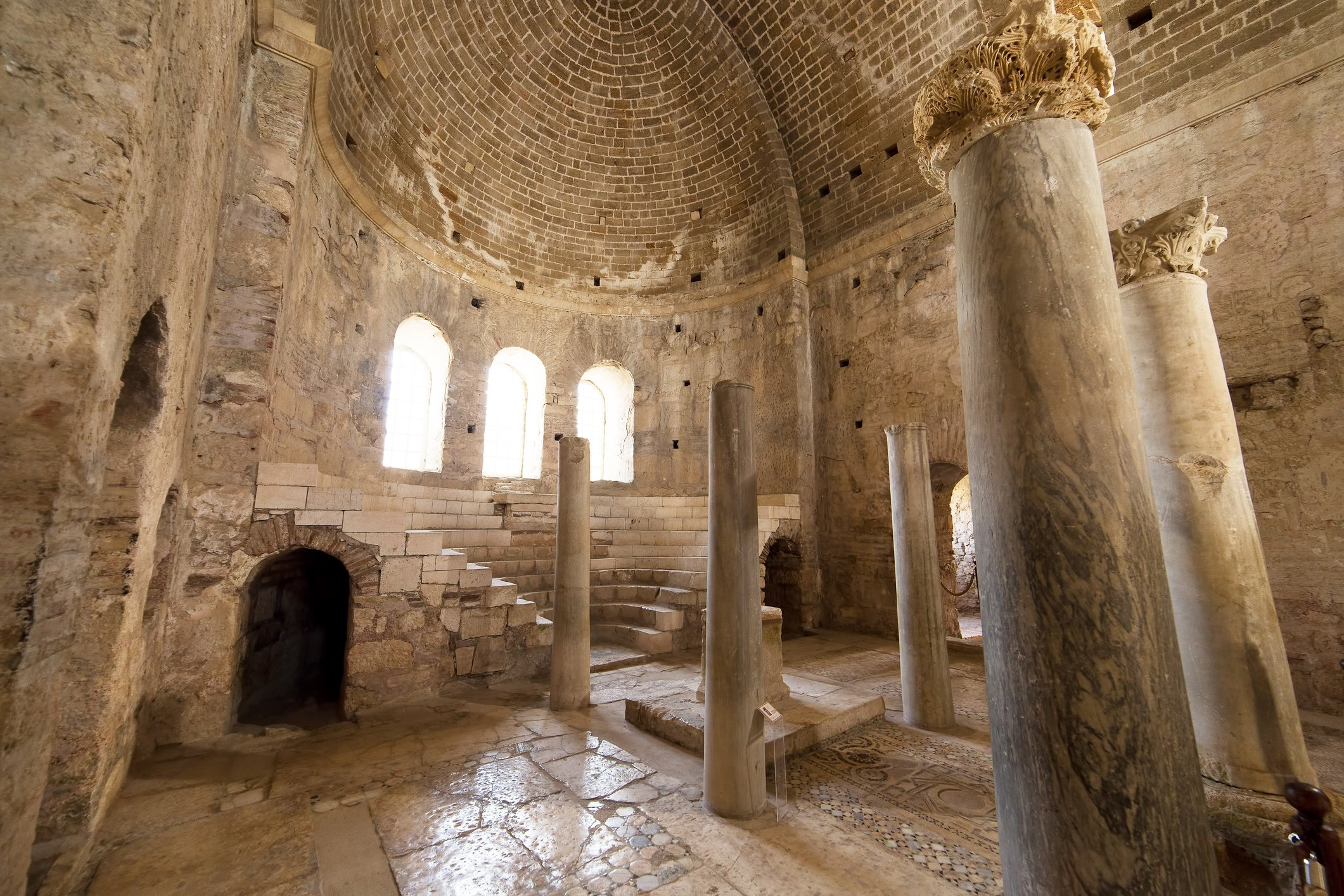 A view from the interior of the Church of St. Nicholas, Antalya, southern Turkey. (iStock Photo)