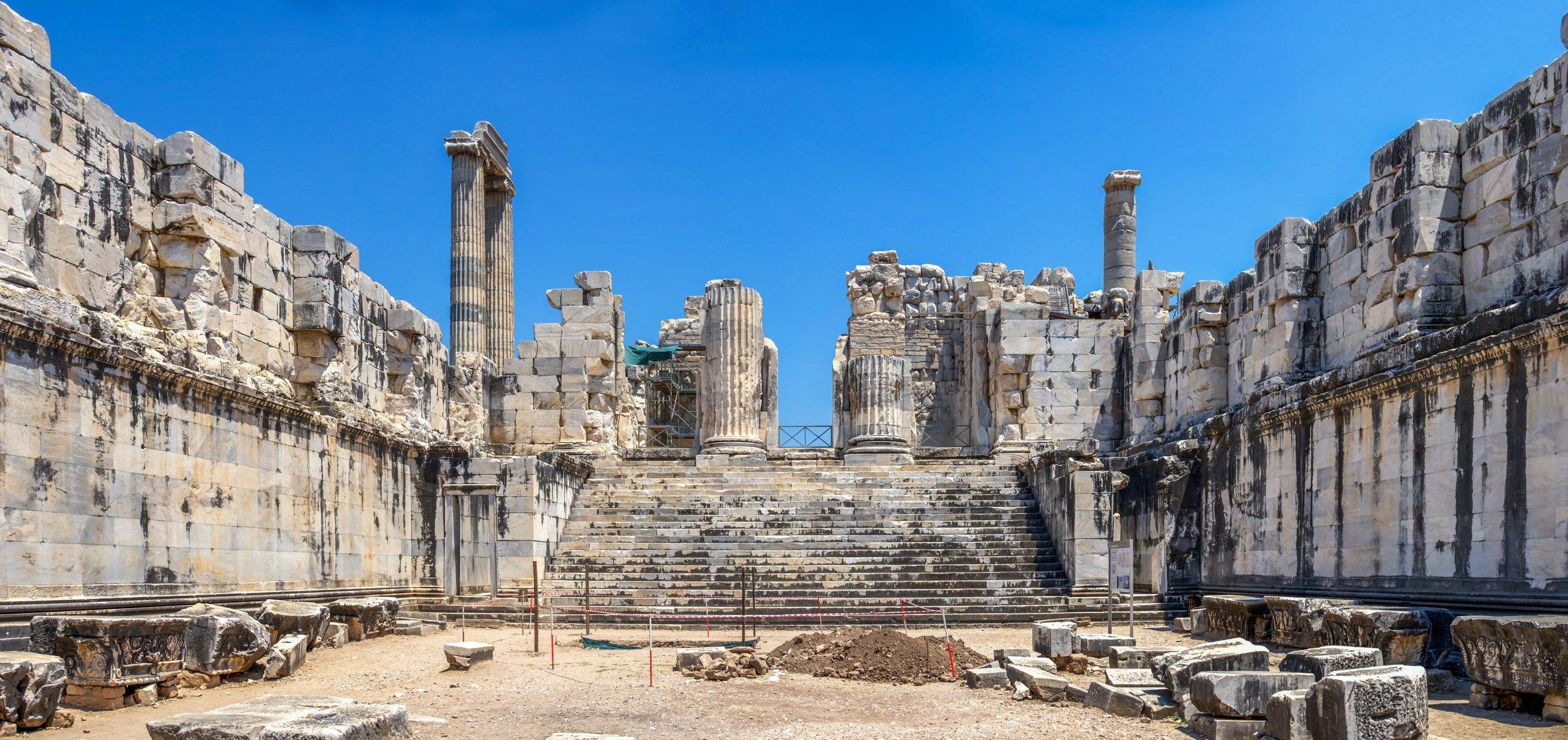 The ruins of the Temple of Apollo at Side, Antalya, southern Turkey. (iStock Photo)