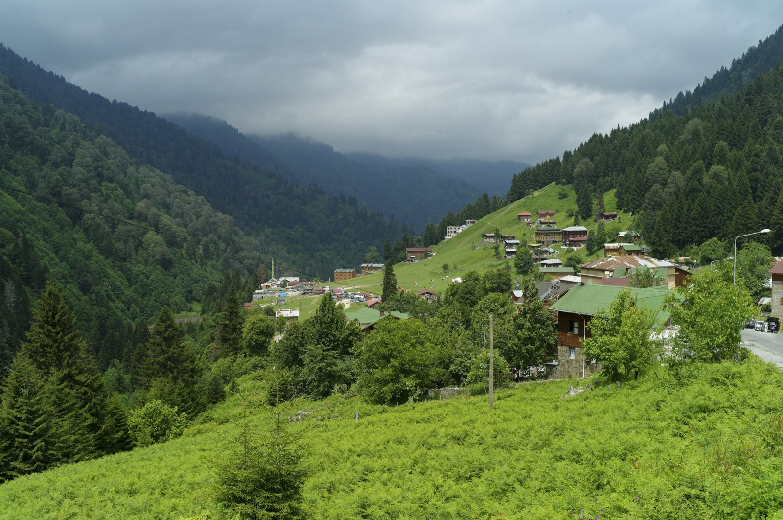 A view of Ayder Plateau, in Rize, northern Turkey, May 21, 2020. (iStock Photo)