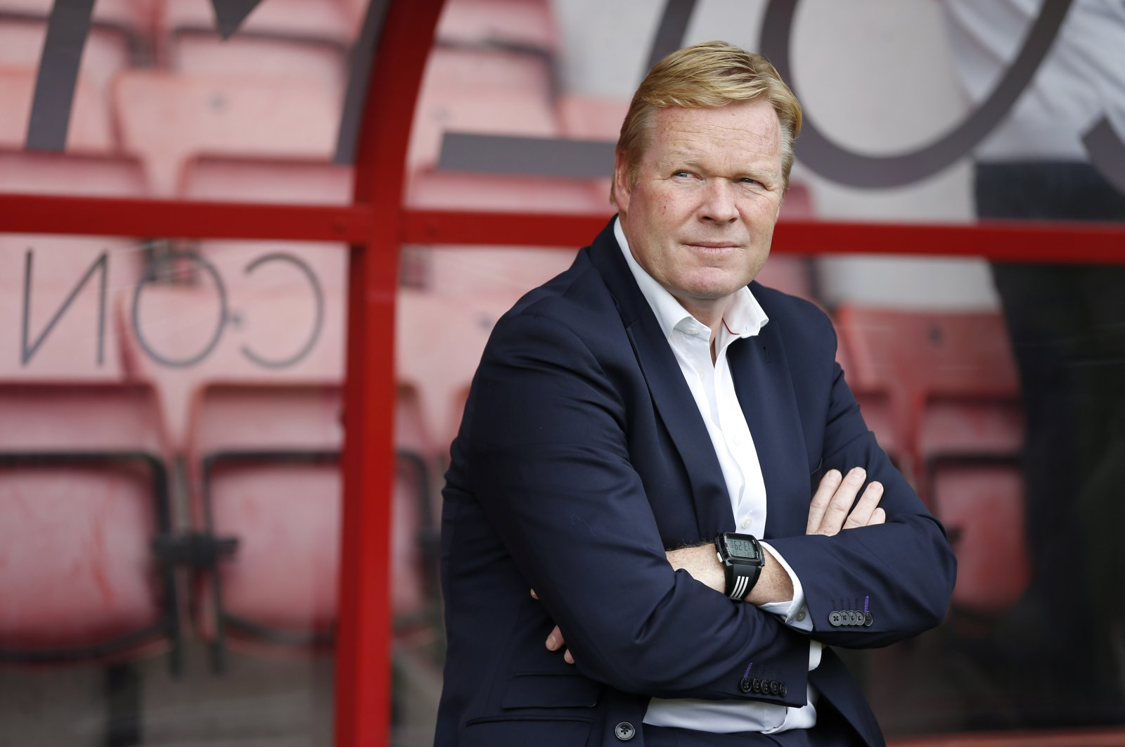 Ronald Koeman before a game between AFC Bournemouth and Everton, in Bournemouth, Britain, Sept. 24, 2016. (Reuters Photo)