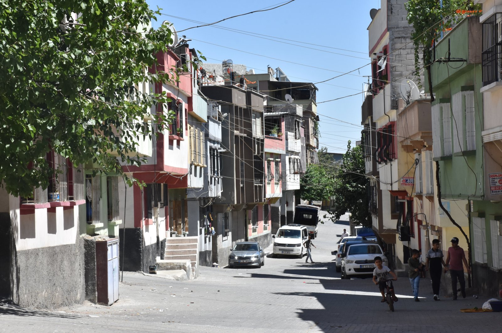A view of the street where the attack took place, in Gaziantep, southeastern Turkey, Aug. 19, 2020. (AA Photo)
