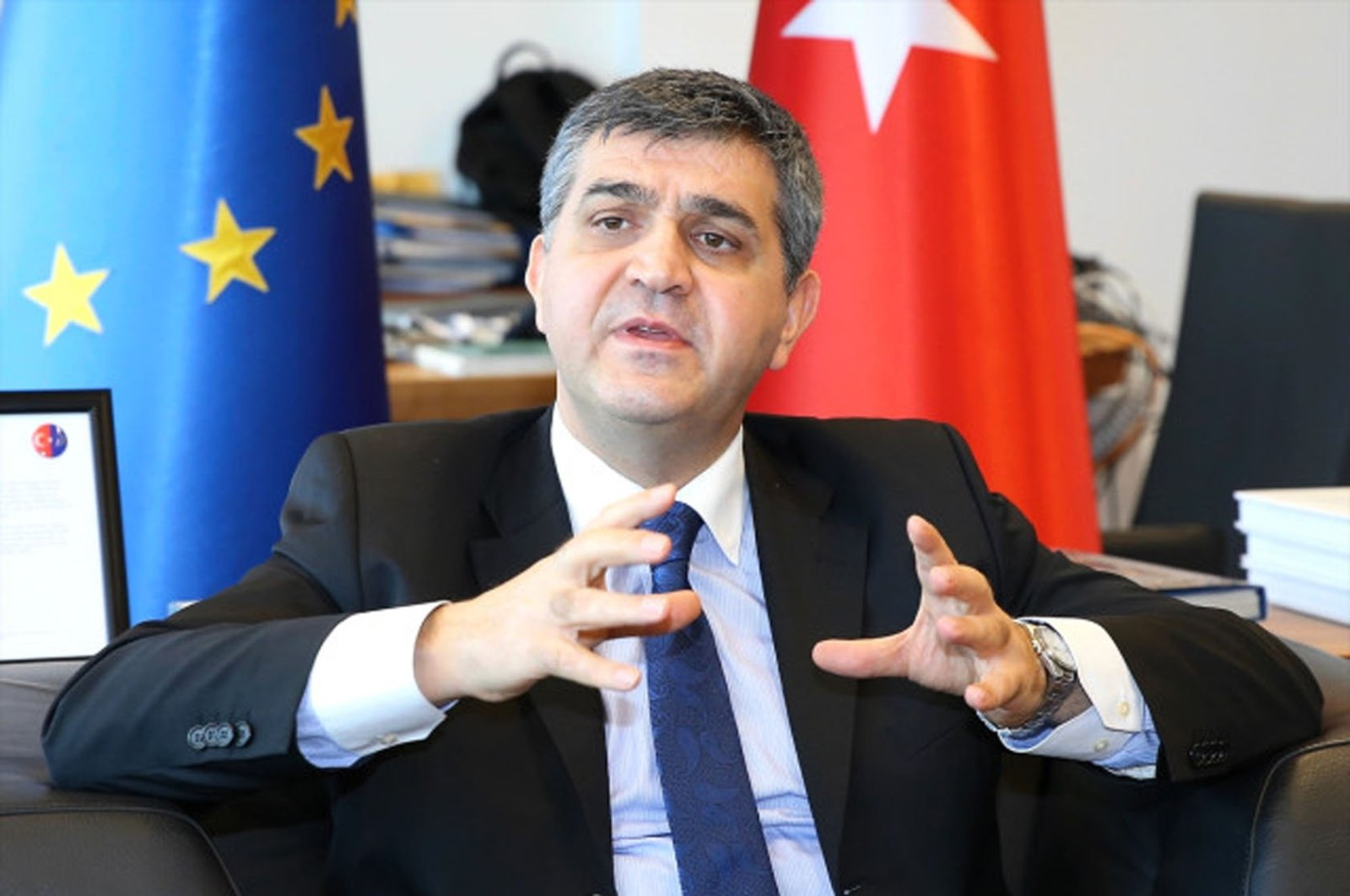 Faruk Kaymakçı, Turkey's deputy foreign minister and director for EU Affairs.