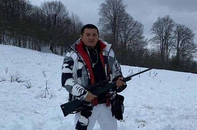 This photo taken from an Instagram account associated with Salifov shows him in an unspecified location on Jan. 5, 2020.