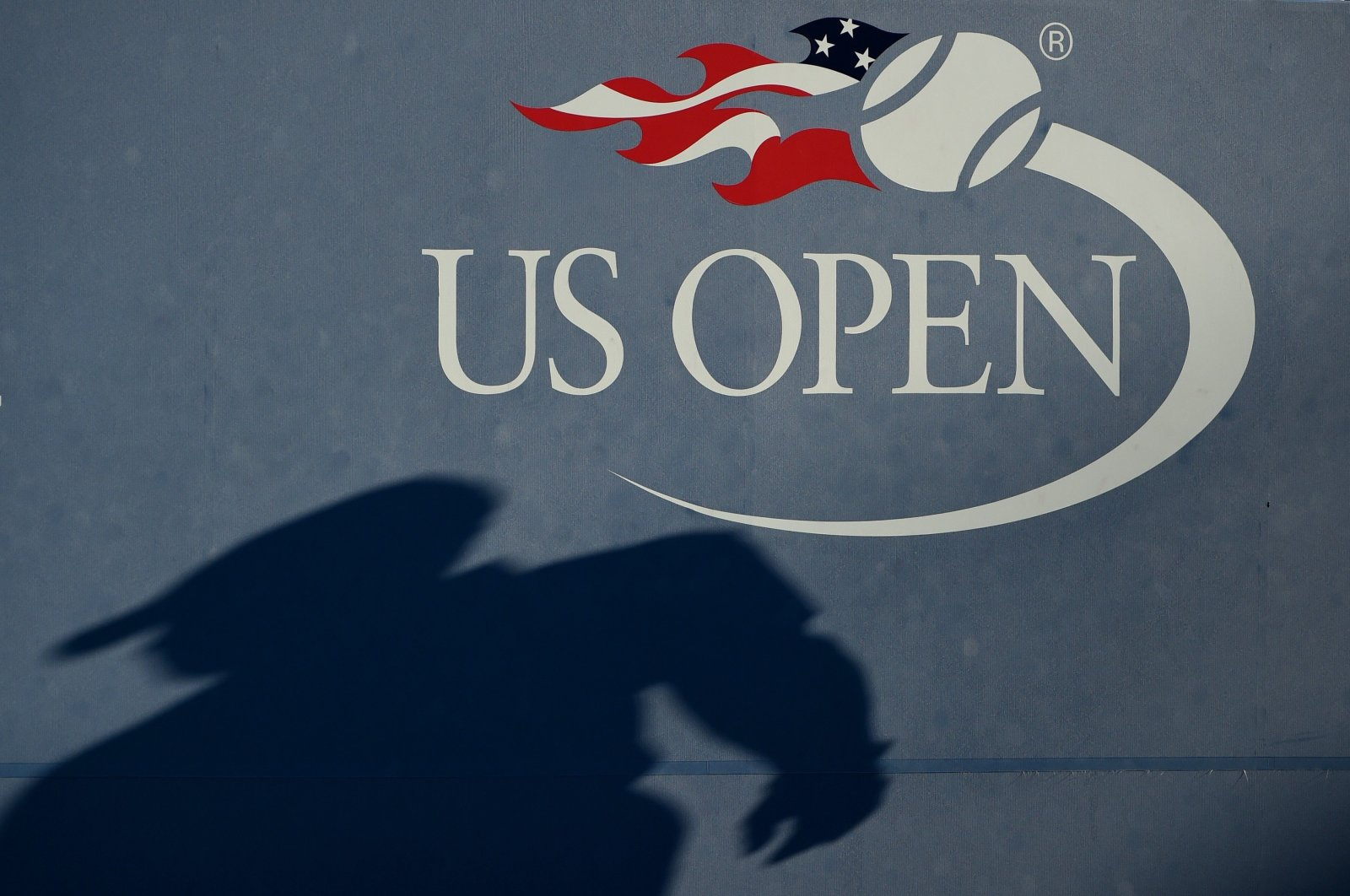 The U.S. Open logo is seen during a tennis match in New York City, New York, U.S., Sept. 3, 2016. (AFP Photo)