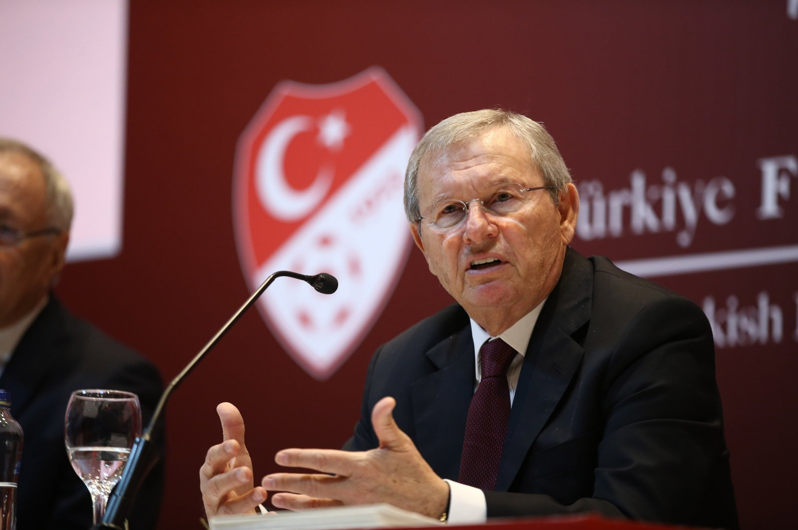Zekeriya Alp during a press conference in Istanbul, Turkey, May 7, 2020. (AA Photo)
