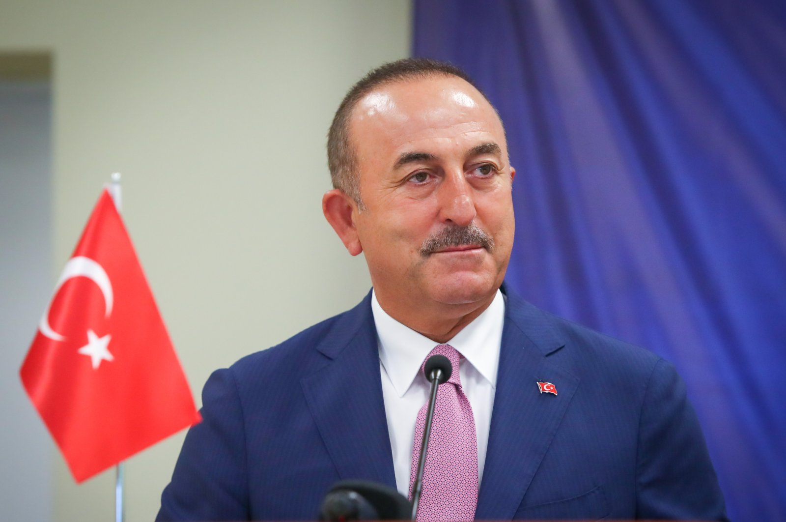 Turkish Foreign Minister Mevlüt Çavuşoğlu. (AA)