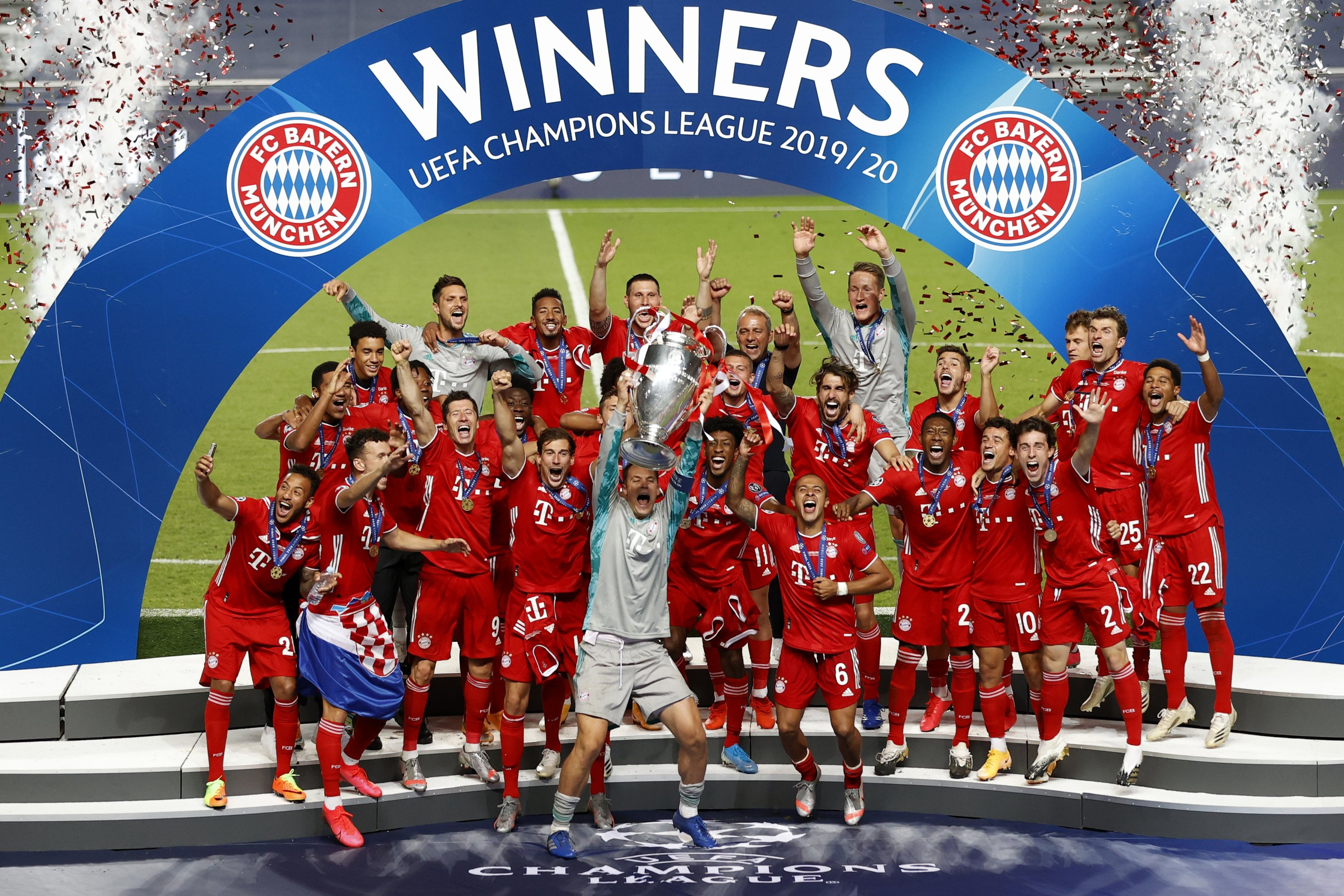 Bayern Munich Wins 6th Champions League Title Daily Sabah