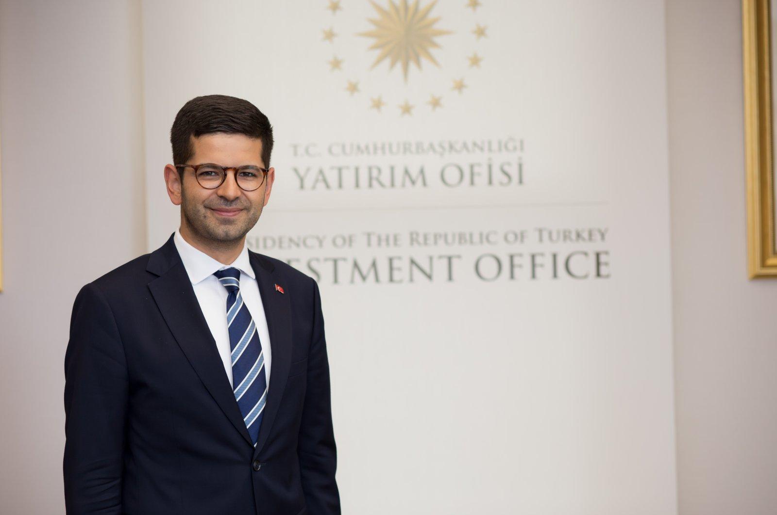 The Turkish Presidency's Investment Office Chairman Burak Dağlıoğlu, Aug. 20, 2020. (Sabah Photo by Saffet Azak)