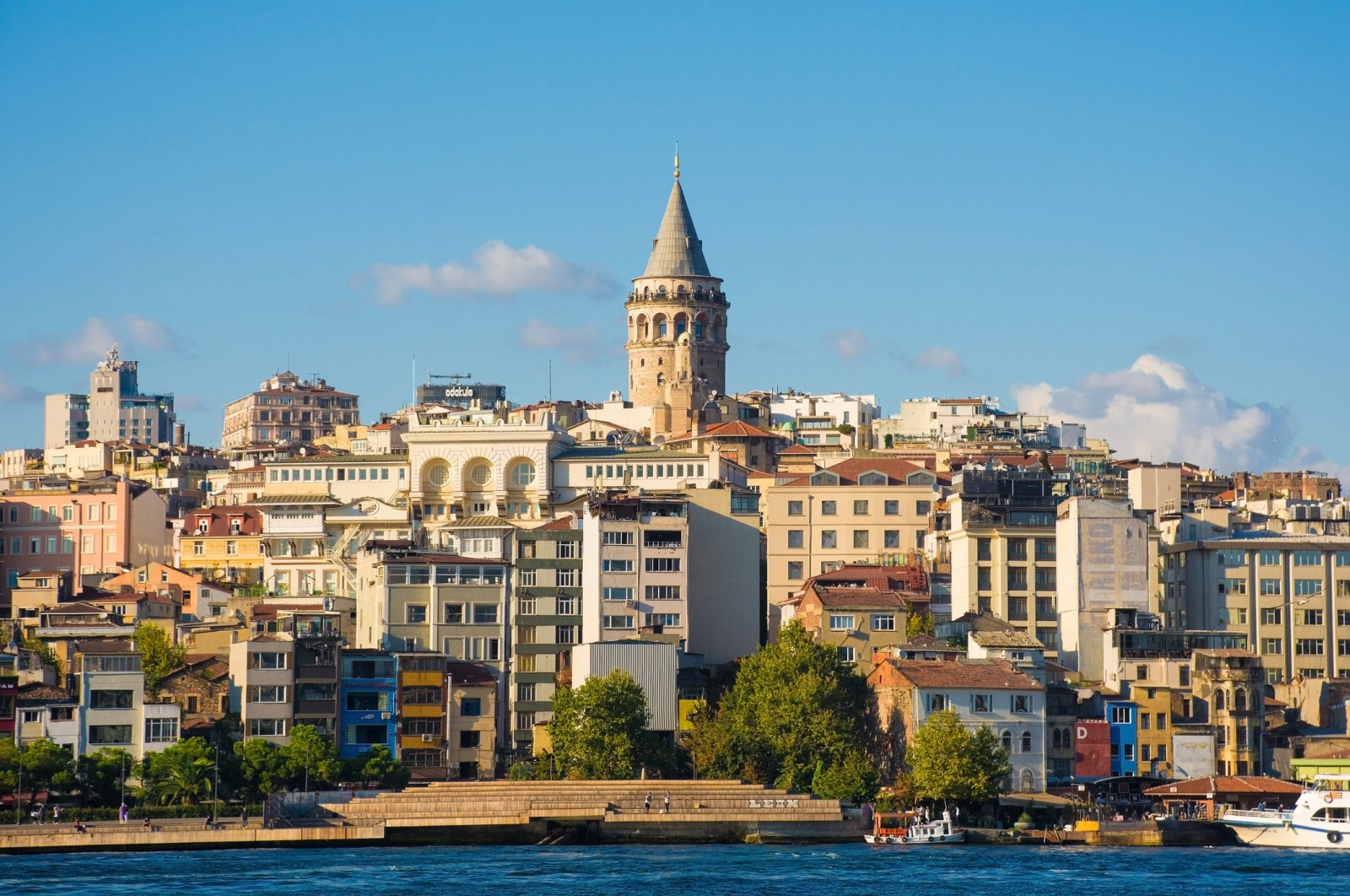 If you rent in Istanbul's Beyoğlu neighborhood, you'll wake up to the sounds of seagulls and local fishermen, with possible views of the Galata Tower. (iStock Photo)