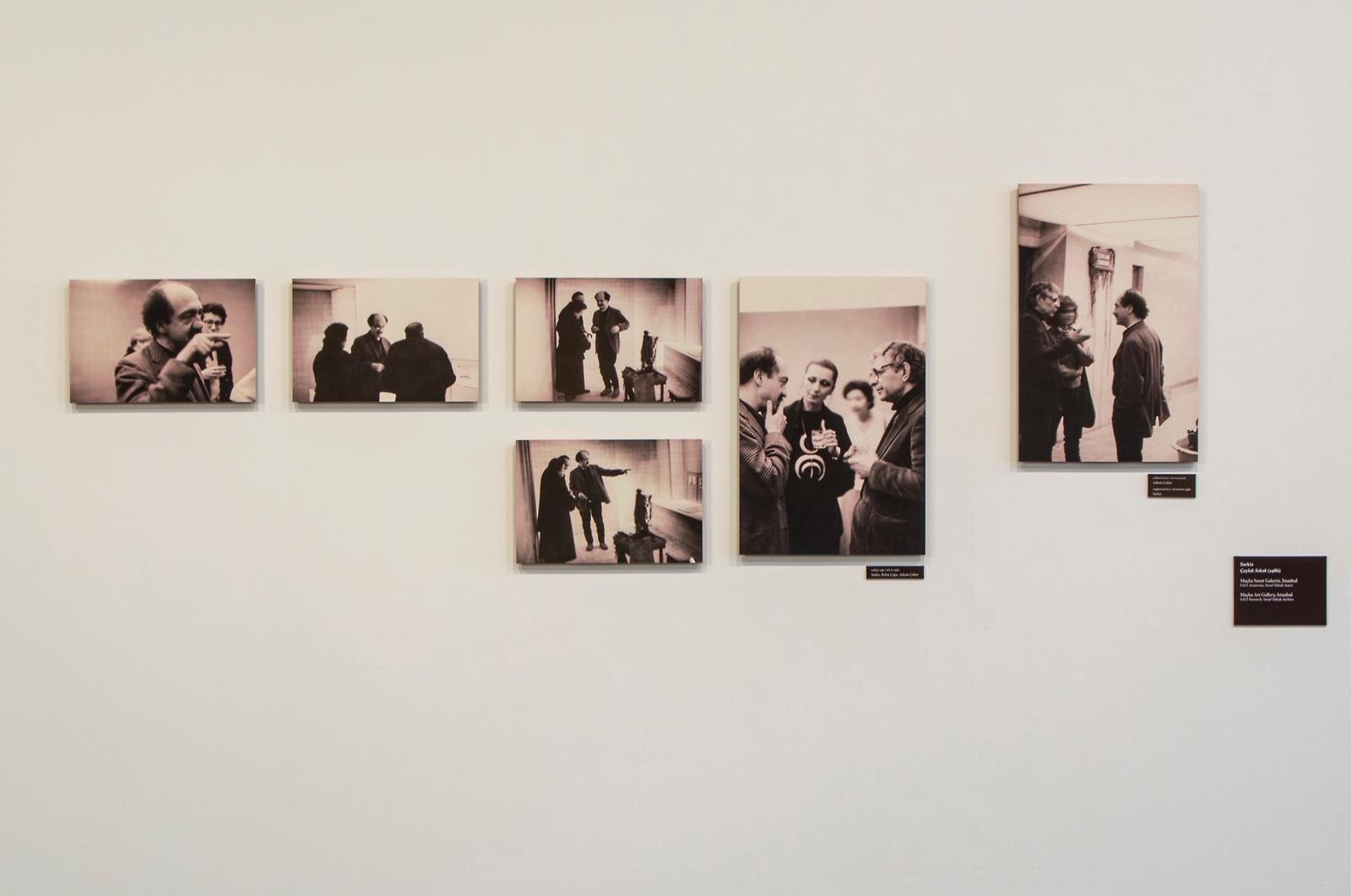An exhibition view in Forum at SALT Beyoğlu, Istanbul. (PHOTO COURTESY OF SALT Research)