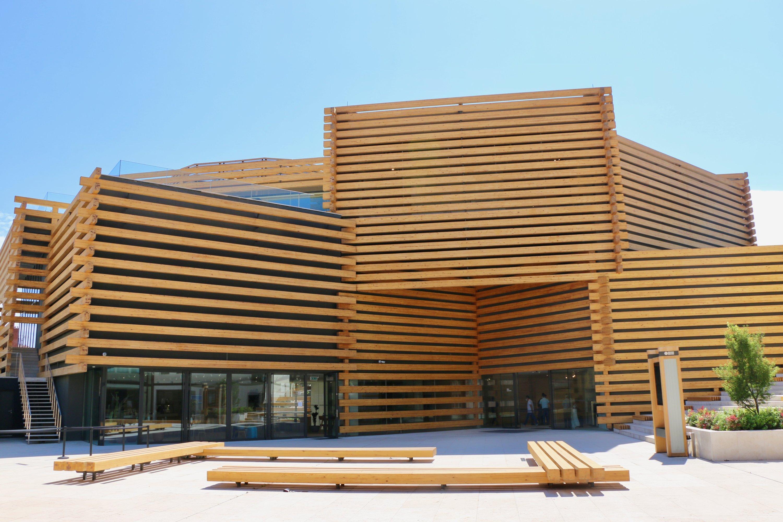 An exterior view of Odunpazarı Modern Museum.