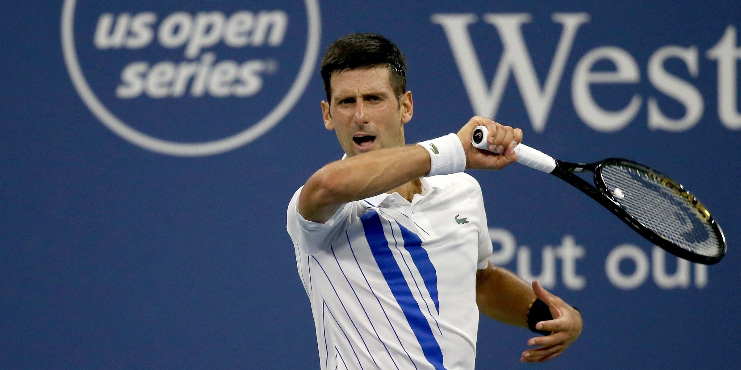 Injured Djokovic Advances Murray Makes Comeback At Us Open Primer Daily Sabah