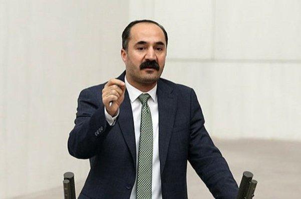 HDP Muş Deputy Mensur Işık speaks at the Turkish Parliament in this undated photo, Ankara, Turkey. (Sabah Photo)