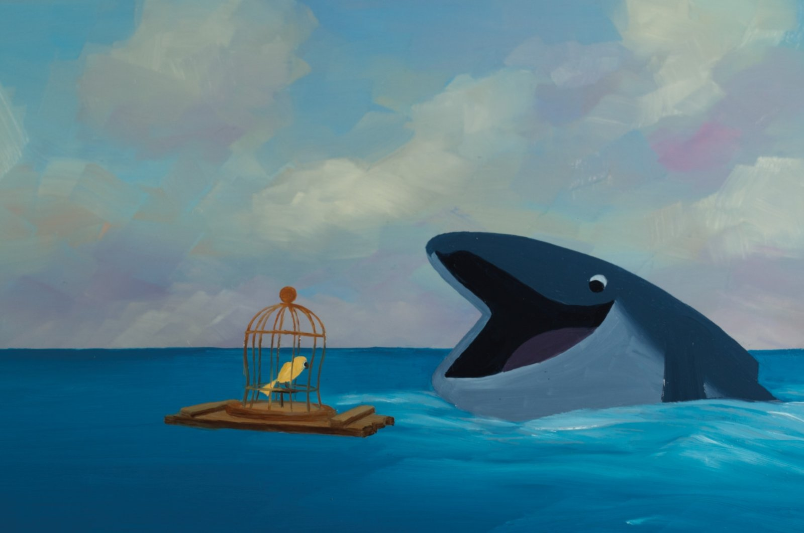 """Still shot from """"The Bird and the Whale"""" by Carol Freeman, one of the movies to be screen at the """"For Children"""" selection of the festival."""