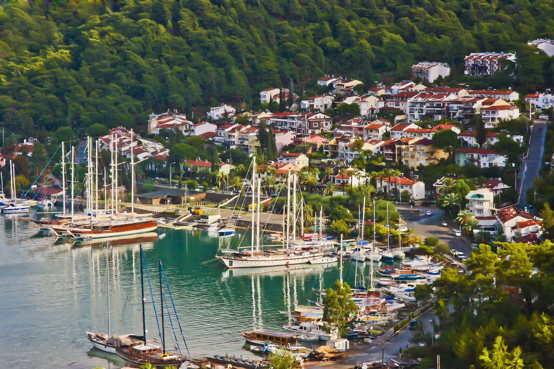 Turkey's southern coasts and locations such as Fethiye district are generally preferred by retiring expats. (iStock Photo)