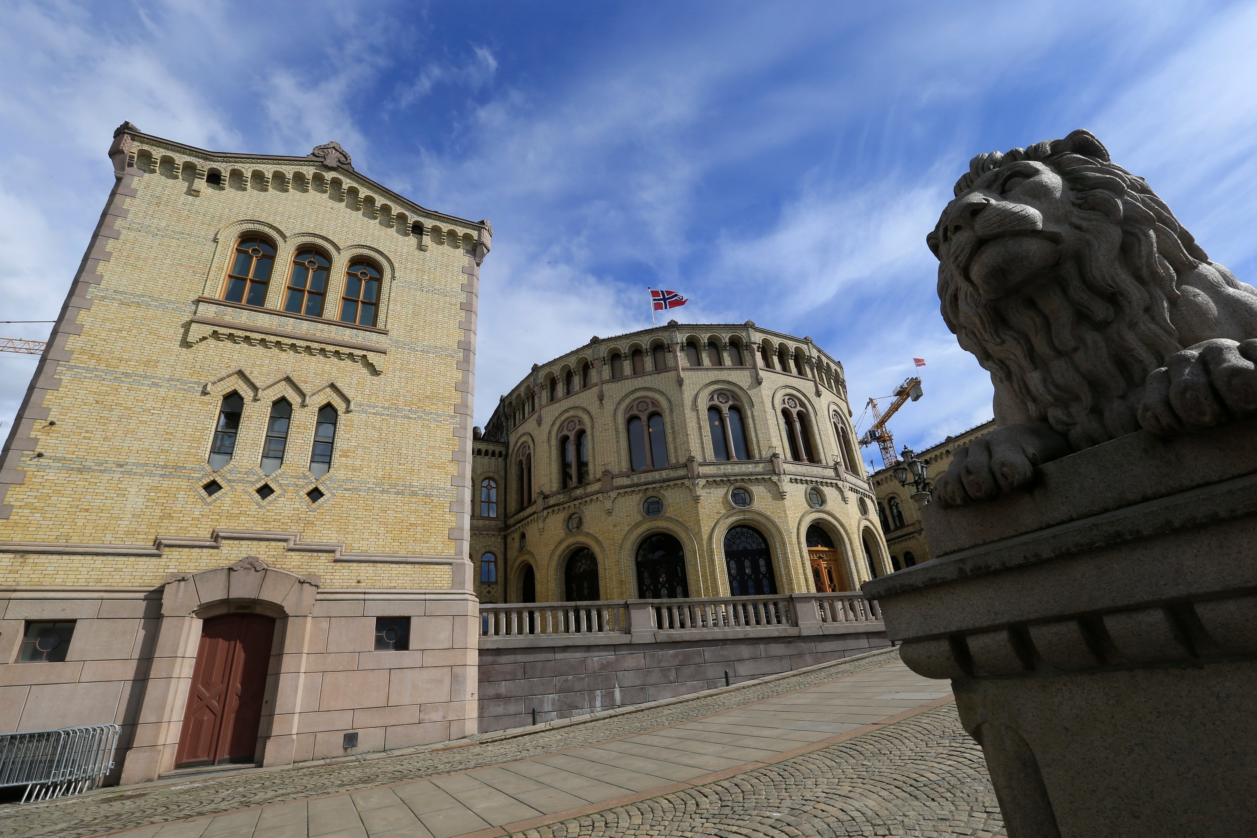 The Norwegian parliament house is seen in Oslo, Norway, May 31, 2017. (Reuters File Photo)