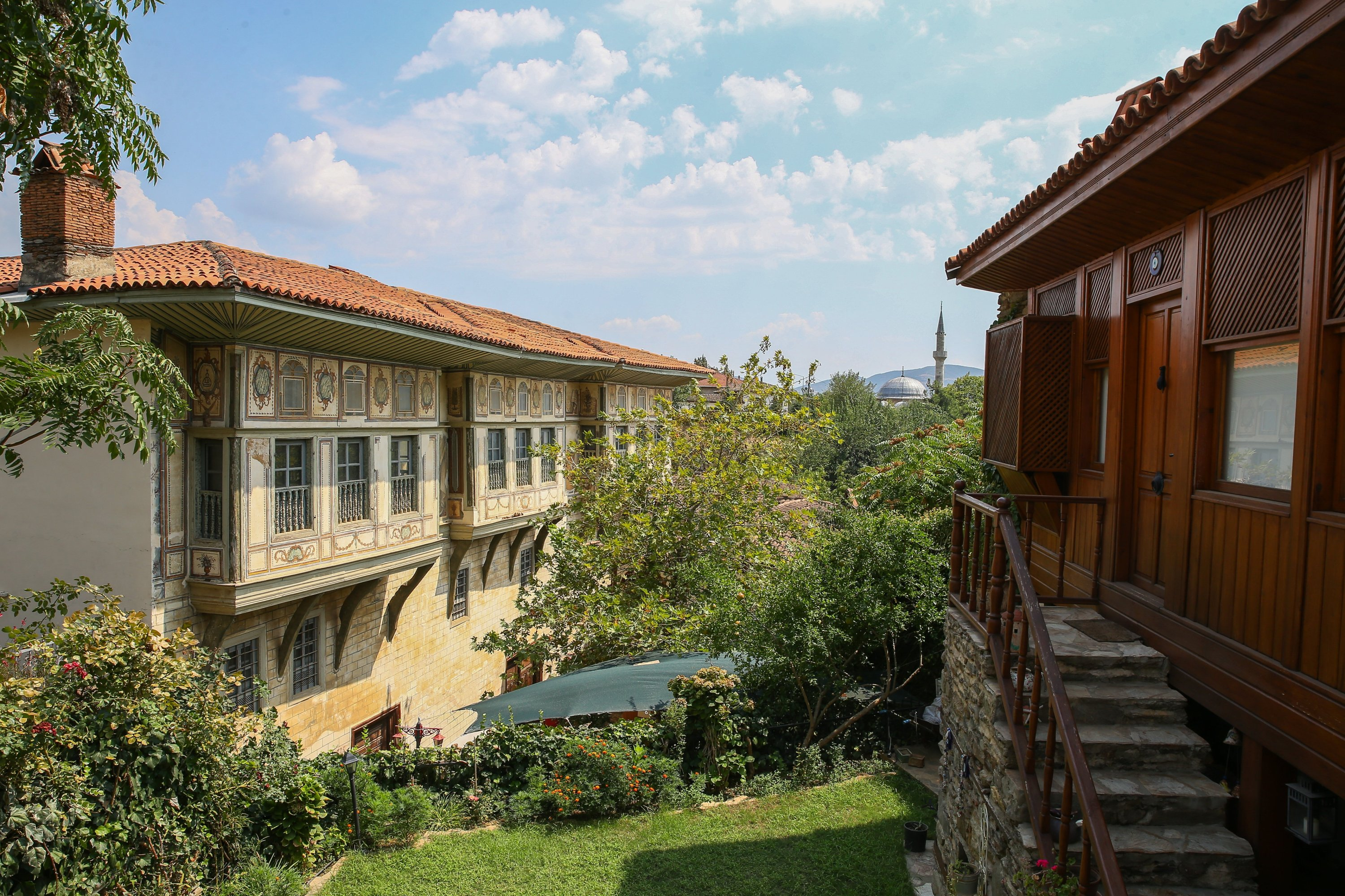 The Çakırağa Mansion is appreciated for its detailed wood workmanship and panoramic views. (AA PHOTO)