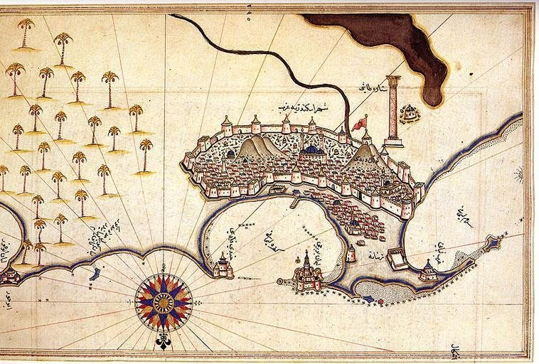 Map of the City of Alexandria.