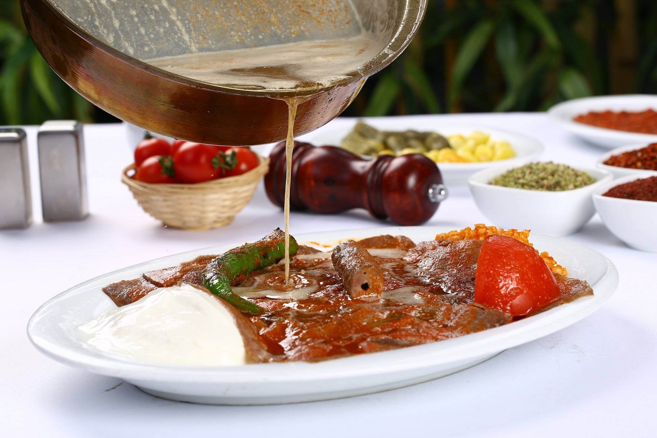 Turkish iskender kebab is almost always served doused in melted butter. (iStock Photo)