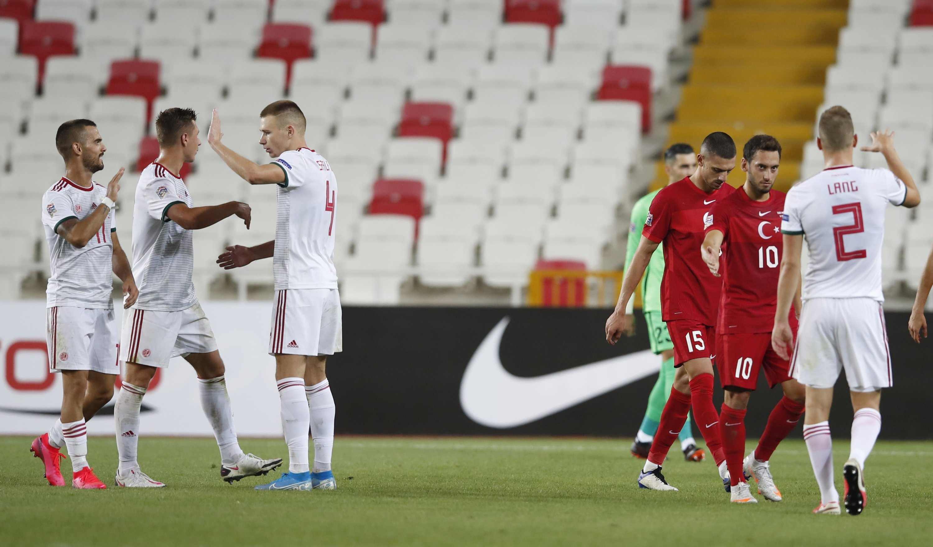Turkey Loses At Home To Hungary In Uefa Nations League Opener Daily Sabah
