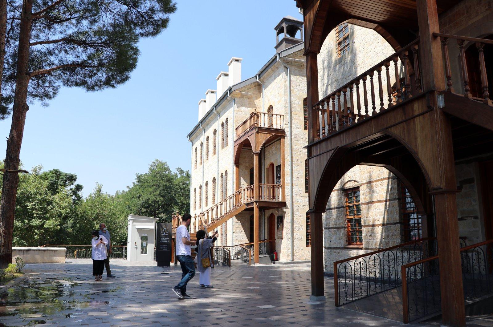 A photo of the Seven Good Men Museum, in Kahramanmaraş, southern Turkey, Sept. 2, 2020. (AA Photo)