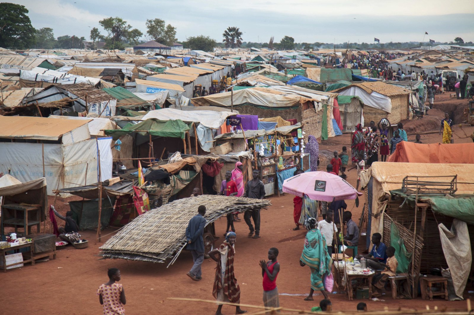 This Sunday, May 14, 2017 file photo shows the U.N. Protection of Civilians camp in Wau, South Sudan. (AP Photo)